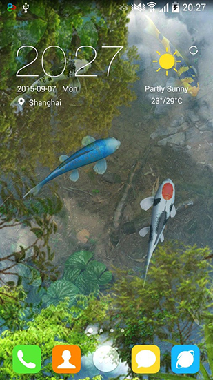 Water Garden Live Wallpaper For Android Free Download Tablet And Phone