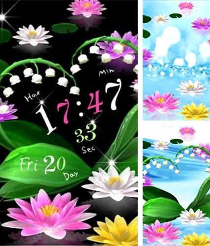Download live wallpaper Water lily for Android. Get full version of Android apk livewallpaper Water lily for tablet and phone.