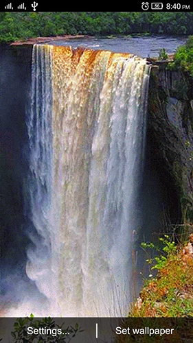 Waterfall 3D by World Live Wallpaper