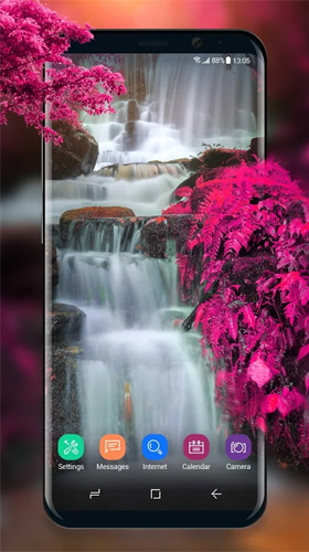 Download livewallpaper Waterfall and swan for Android. Get full version of Android apk livewallpaper Waterfall and swan for tablet and phone.
