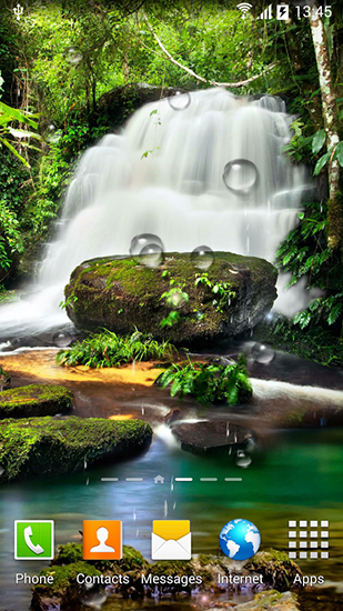 Screenshots of the Waterfalls for Android tablet, phone.
