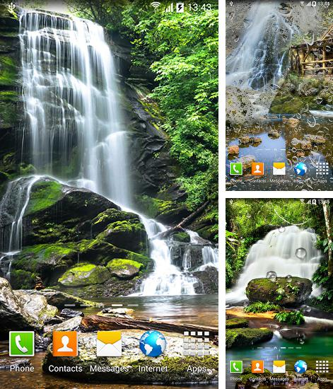 In addition to live wallpaper Ghost touch for Android phones and tablets, you can also download Waterfalls for free.