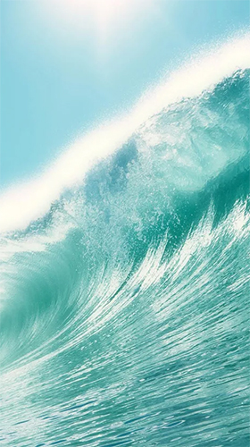 Screenshots of the Waves by Creative Factory Wallpapers for Android tablet, phone.