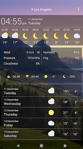 Download livewallpaper Weather by SkySky for Android. Get full version of Android apk livewallpaper Weather by SkySky for tablet and phone.