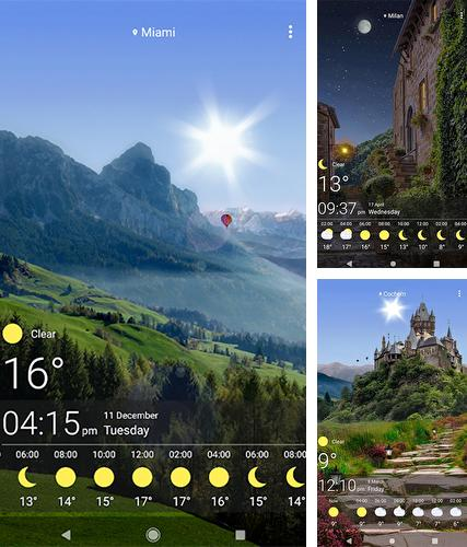 Baixe o papeis de parede animados Weather by SkySky para Android gratuitamente. Obtenha a versao completa do aplicativo apk para Android Weather by SkySky para tablet e celular.