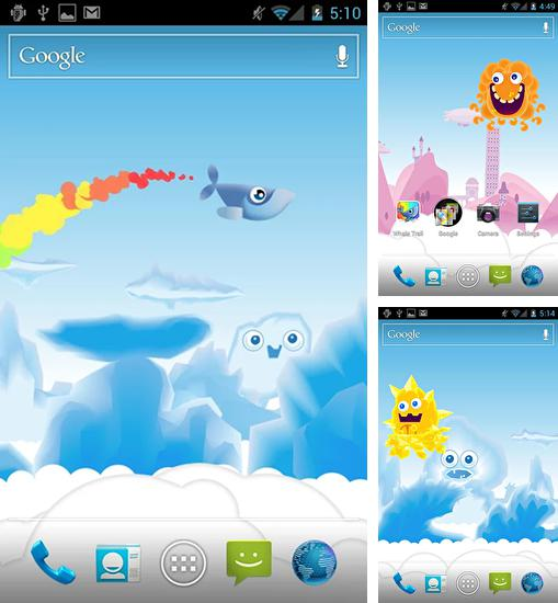 In addition to live wallpaper Lighthouse 3D for Android phones and tablets, you can also download Whale trail for free.