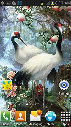 Screenshots von White birds für Android-Tablet, Smartphone.