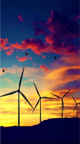 Windmill By Live Wallpapers HD Wallpaper For Android Free Download Tablet And Phone