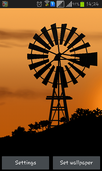 Windmill By Pix Live Wallpapers Wallpaper For Android Free Download Tablet And Phone
