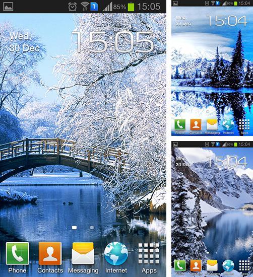 In addition to live wallpaper Birds by Blackbird wallpapers for Android phones and tablets, you can also download Winter and snow for free.