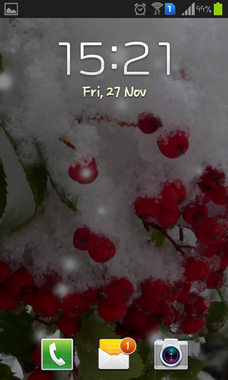Download Winter berry - livewallpaper for Android. Winter berry apk - free download.