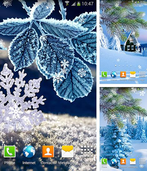 In addition to live wallpaper Glitter for Android phones and tablets, you can also download Winter by Amax lwps for free.