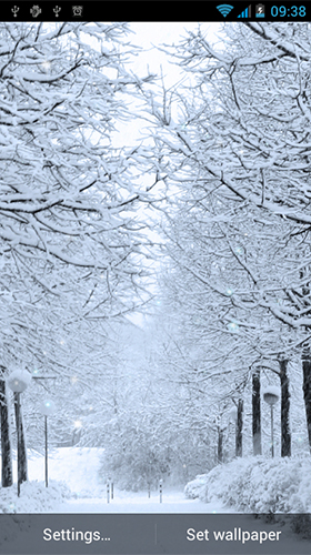 Descargar Winter By Best Live Wallpapers Free Para Android