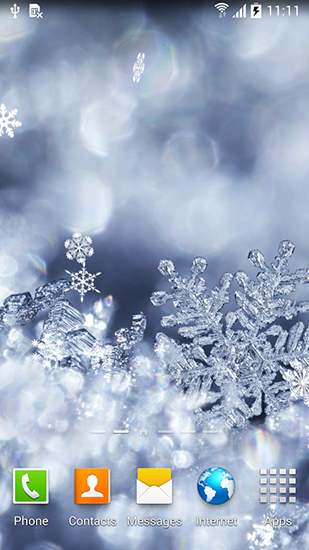 Winter by blackbird wallpapers live wallpaper for android - Free winter wallpaper for phone ...