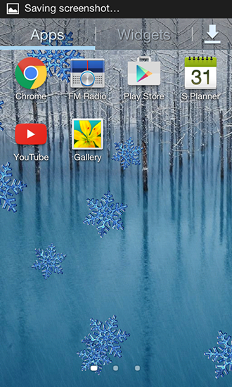 Winter by Charlyk lwp für Android spielen. Live Wallpaper Winter kostenloser Download.