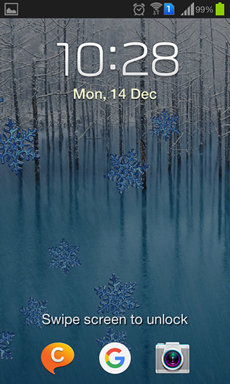 Screenshots von Winter by Charlyk lwp für Android-Tablet, Smartphone.