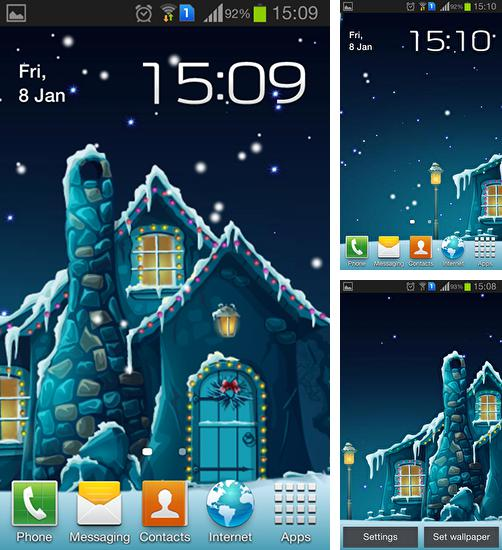 In addition to live wallpaper Space planets for Android phones and tablets, you can also download Winter by Inosoftmedia for free.