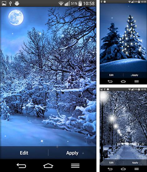 In addition to live wallpaper Mantaray for Android phones and tablets, you can also download Winter by My live wallpaper for free.