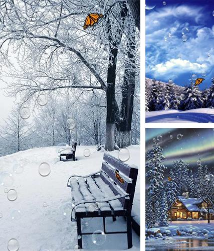 Kostenloses Android-Live Wallpaper Winter. Vollversion der Android-apk-App Winter by SubMad Group für Tablets und Telefone.