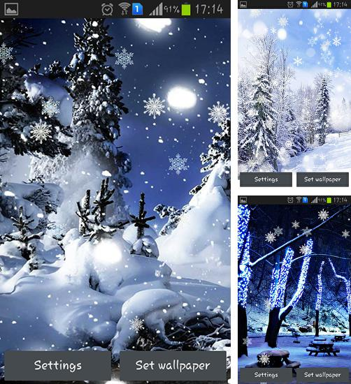 In addition to live wallpaper Moomlight for Android phones and tablets, you can also download Winter dreams HD for free.