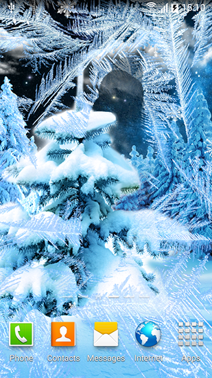 Screenshots of the Winter forest 2015 for Android tablet, phone.