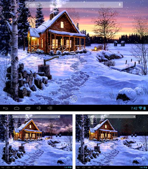 In addition to live wallpaper Fireflies by Top live wallpapers hq for Android phones and tablets, you can also download Winter holiday for free.