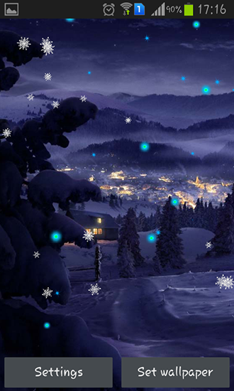 Screenshots of the Winter holidays 2015 for Android tablet, phone.