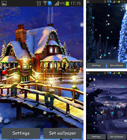In addition to live wallpaper Cute princess by Lux Live Wallpapers for Android phones and tablets, you can also download Winter holidays 2015 for free.