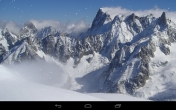 Baixar papel de parede para celular gratis animados de Winter mountains. A versão completa apk para Android de Winter mountains papeis de parede animado para tablets e telefones.