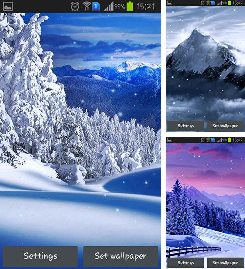 In addition to live wallpaper Moon light for Android phones and tablets, you can also download Winter nature for free.