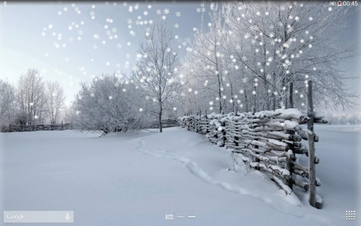 Download Winter snow - livewallpaper for Android. Winter snow apk - free download.