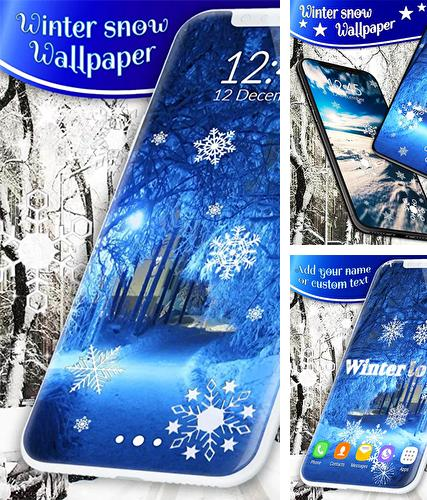 Download live wallpaper Winter snow by 3D HD Moving Live Wallpapers Magic Touch Clocks for Android. Get full version of Android apk livewallpaper Winter snow by 3D HD Moving Live Wallpapers Magic Touch Clocks for tablet and phone.