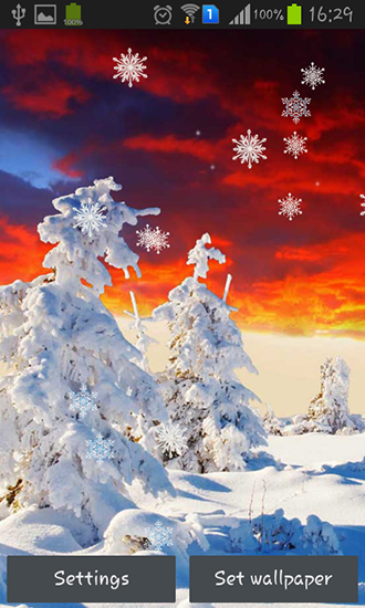 Download Winter sunset - livewallpaper for Android. Winter sunset apk - free download.
