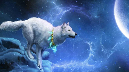 Wolf 3d Für Android Kostenlos Herunterladen Live Wallpaper Wolf 3d