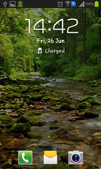 Screenshots of the Wonderful forest river for Android tablet, phone.