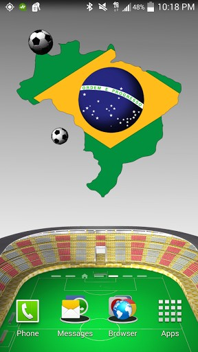 Download livewallpaper Brazil: World cup for Android. Get full version of Android apk livewallpaper Brazil: World cup for tablet and phone.