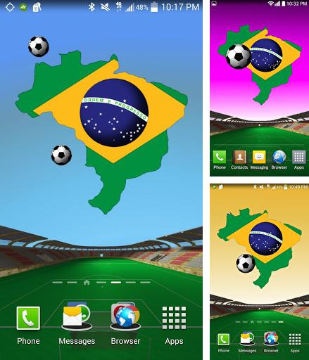 Download live wallpaper Brazil: World cup for Android. Get full version of Android apk livewallpaper Brazil: World cup for tablet and phone.