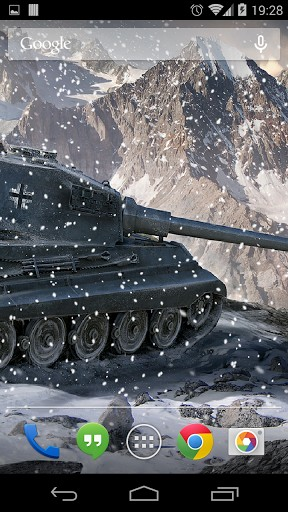Screenshots von World of tanks für Android-Tablet, Smartphone.