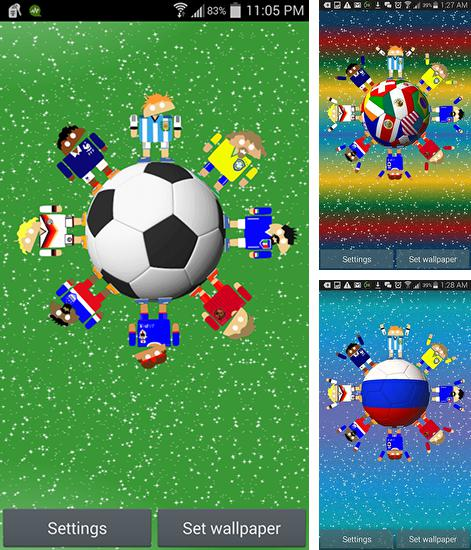 Download live wallpaper World soccer robots for Android. Get full version of Android apk livewallpaper World soccer robots for tablet and phone.