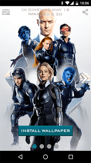 Download livewallpaper X-men for Android. Get full version of Android apk livewallpaper X-men for tablet and phone.