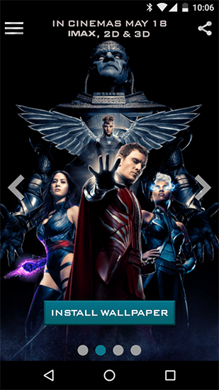 Download X-men - livewallpaper for Android. X-men apk - free download.