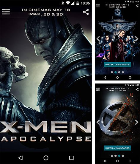 Kostenloses Android-Live Wallpaper X-Men. Vollversion der Android-apk-App X-men für Tablets und Telefone.