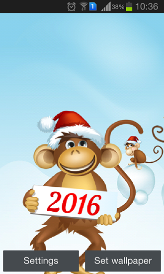 Download Year of the monkey - livewallpaper for Android. Year of the monkey apk - free download.