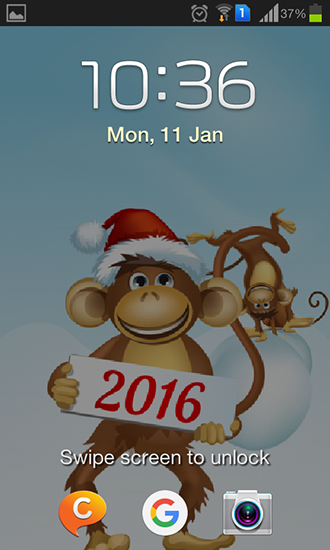 Screenshots of the Year of the monkey for Android tablet, phone.