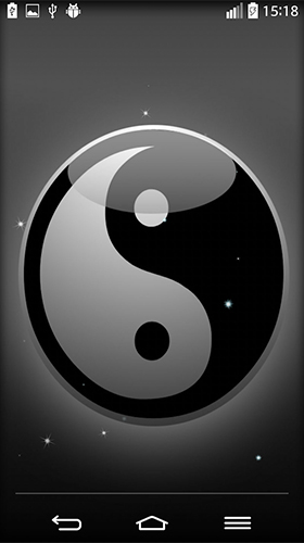 Screenshots of the Yin Yang for Android tablet, phone.