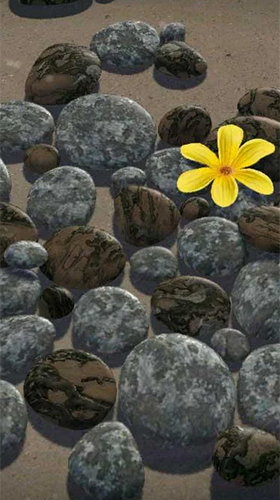 Screenshots of the Zen stones 3D for Android tablet, phone.