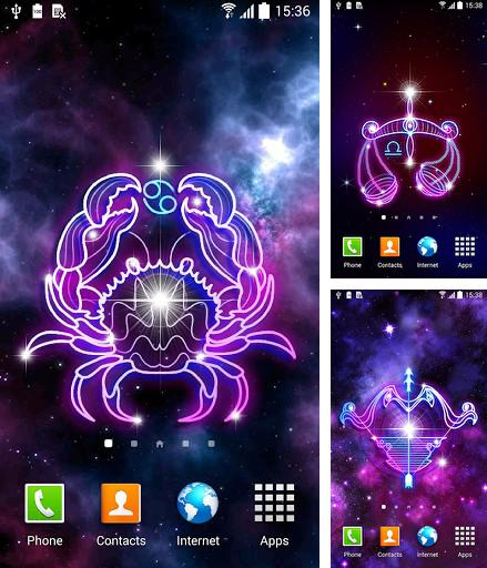 Download live wallpaper Zodiac signs for Android. Get full version of Android apk livewallpaper Zodiac signs for tablet and phone.