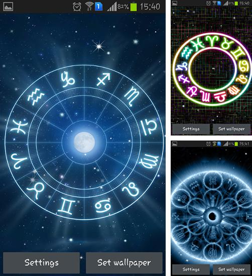 In addition to live wallpaper Material for Android phones and tablets, you can also download Zodiac for free.