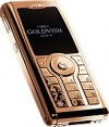 GoldVish Centerfold Pink Gold 携帯電話