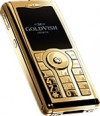 GoldVish Centerfold Yellow Gold 携帯電話
